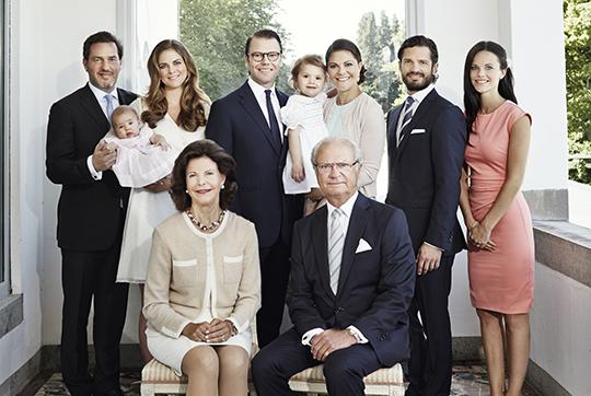 Swedish Royal Family 2015