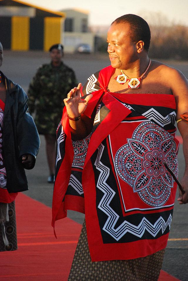 King Mwsati III of Swaziland; Photo Credit – Wikipedia