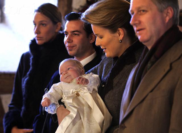 Belgium - Royals - Christening - Prince Emmanuel