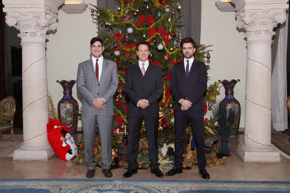 Prince Alexander, Prince Philip and Hereditary Prince Peter photo: © Royal Family of Serbia