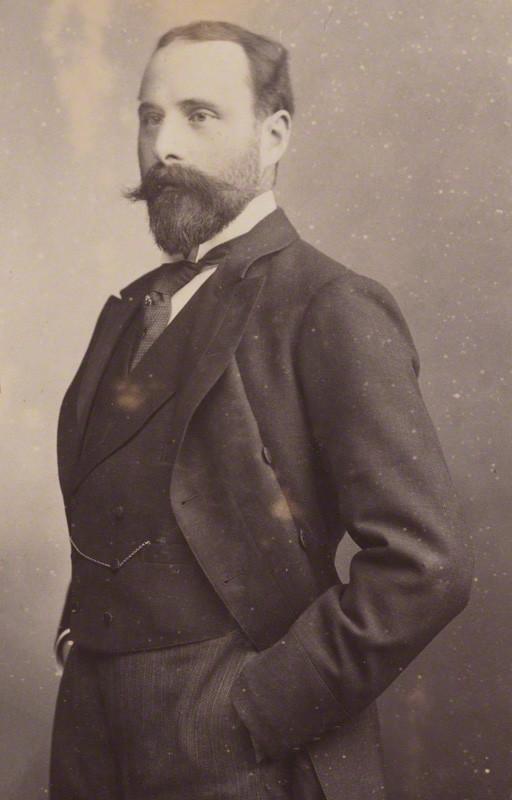Prince Henry Maurice of Battenberg by Walery, albumen print, 1895 NPG