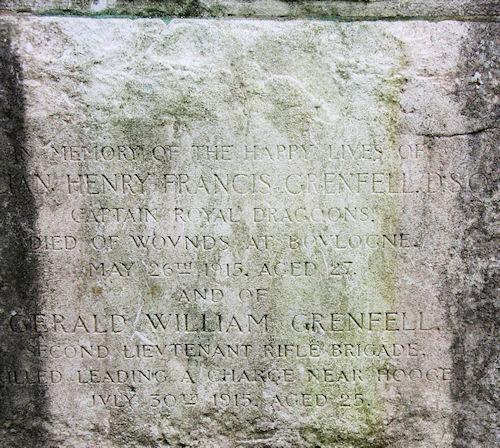 grenfell memorial
