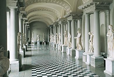 Gustav III's Museum of Antiquities, source: Swedish Royal Court